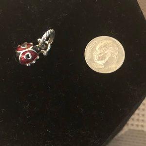 Brighton red enamel Ladybug charm NWOT